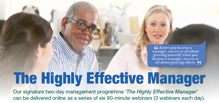The Highly Effective Manager 2020 Webinar