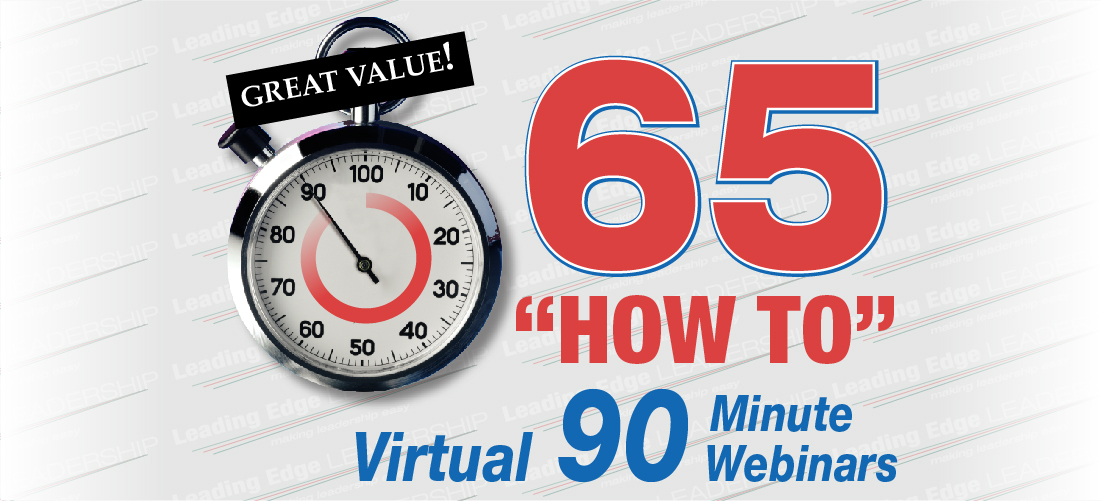 65 How To Virtual 90 Minute Webinars