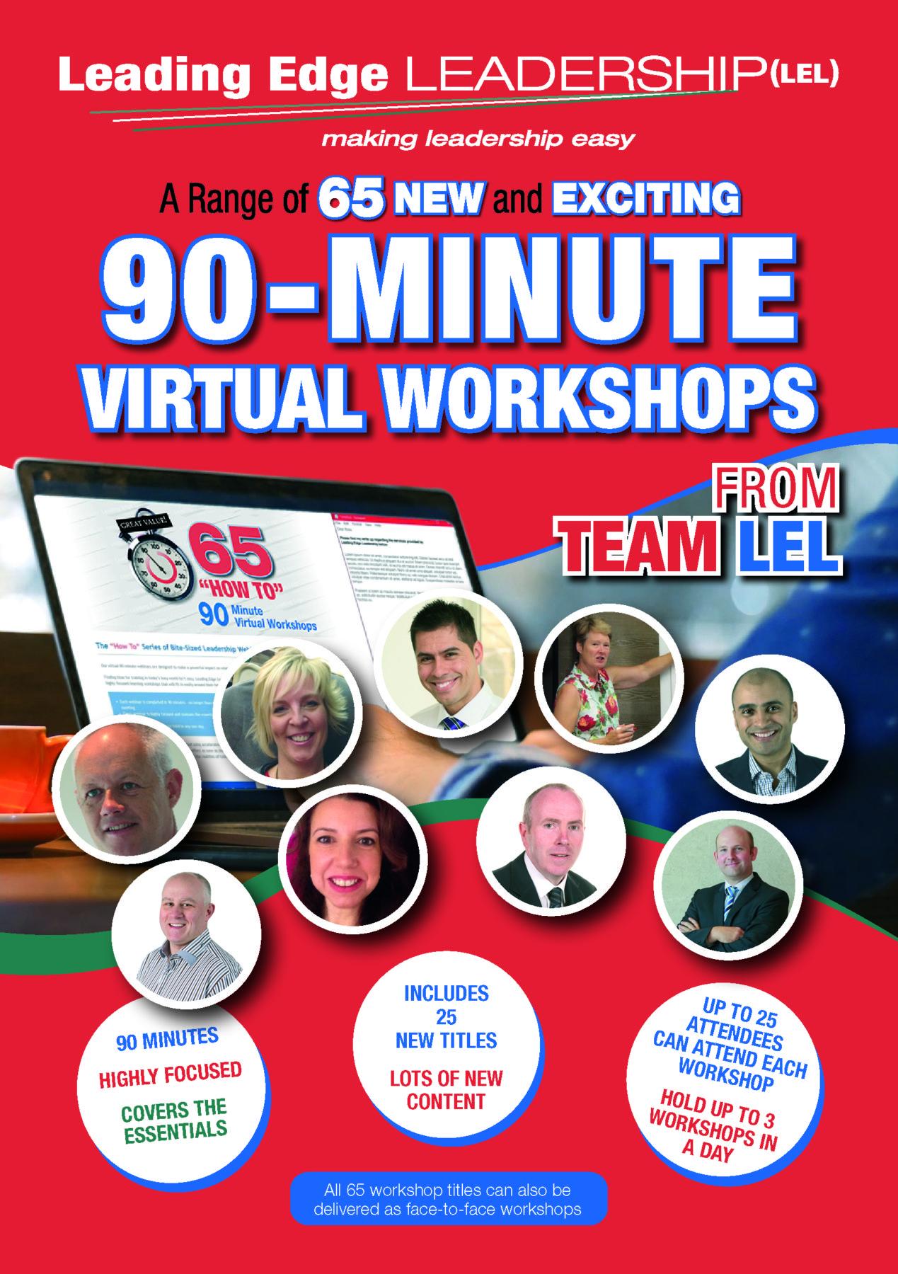 90-Minute Virtual Workshops